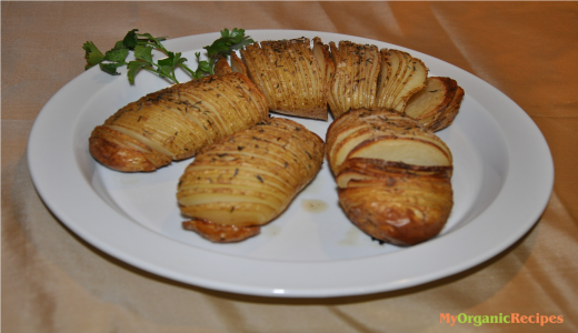 potatoes Hasselback