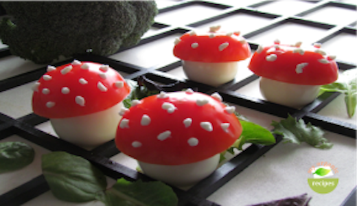 Easter mushrooms