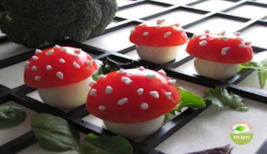 Easter mushrooms