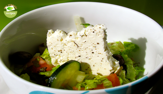 spring greek salad