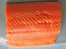 alaskan organic salmon
