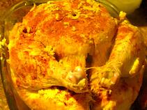 organic roast chicken
