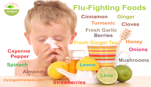 flu foods