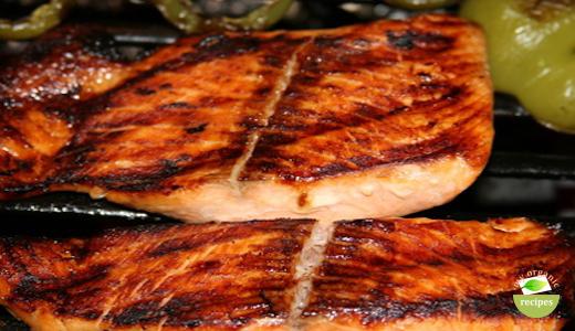 organic asian salmon.
