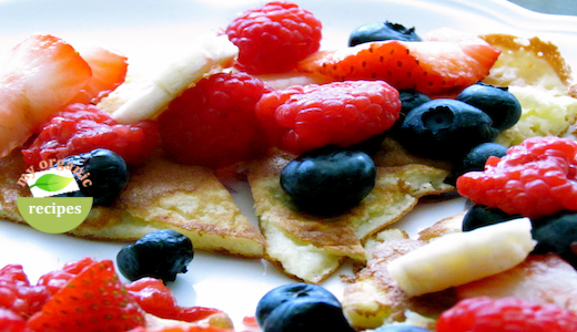 organic pancakes recipe