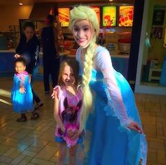 princess visit